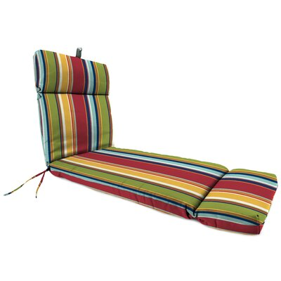 French Edge Indoor/Outdoor Chaise Lounge Cushion by Alcott Hill