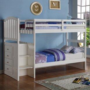Harriet Bee Auvergne Twin Bunk Bed