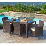 Cassidy 7 Piece Dining set with Cushions