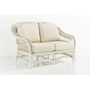 Plantation Loveseat With Cushion by South Sea Rattan Fresh