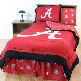 NCAA Reversible Comforter Set
