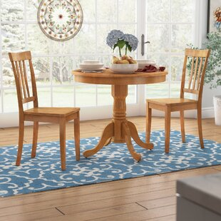 Woodward Traditional 3 Piece Bistro Set by Three Posts Herry Up