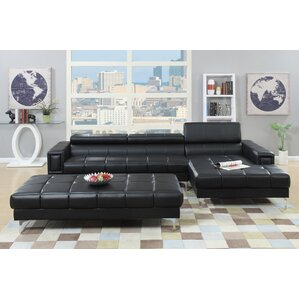 Bobkona Hayden Reclining Sectional  sc 1 st  Wayfair : sofa chaise sectional - Sectionals, Sofas & Couches