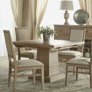 Valentin Extendable Dining Table in Stone Wash by Lark Manor