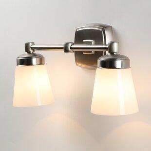 Winston Porter Jebediah 2-Light Vanity Light