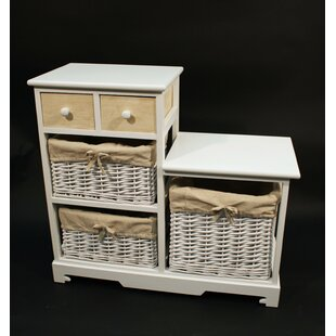 Chere 2 Drawer Combi Chest By Brambly Cottage