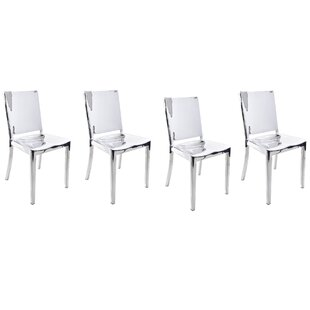 Portillo Arm Less Dining Chair (Set of 4) Orren Ellis