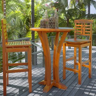 Beachcrest Home Cassie Bar Table