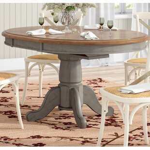 August Grove Wonderly Pedestal Extendable Dining Table
