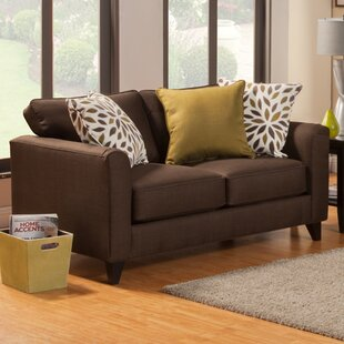 Affordable Amberley Contemporary Flared Arm Loveseat by Darby Home Co Reviews (2019) & Buyer's Guide