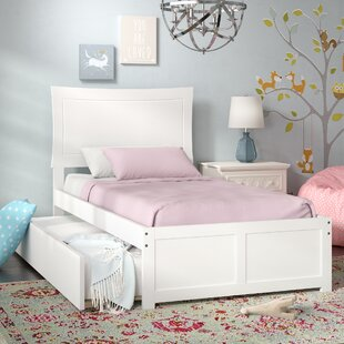 Platform Bed with Trundle