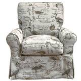 Balhi Box Cushion Armchair Slipcover by Rosecliff Heights