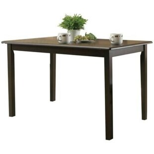 Proctor Solid Wood Dining Table Winston Porter