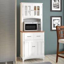 Kitchen Corner Pantry Cabinets Wayfair