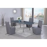 Aldine 3 - Piece Extendable Dining Set by Orren Ellis
