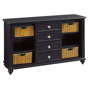 Wheelock Black Accent Chest by Beachcrest Home