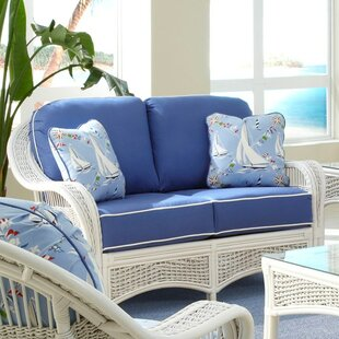 Regatta'' Loveseat by Spice Islands Wicker Purchase