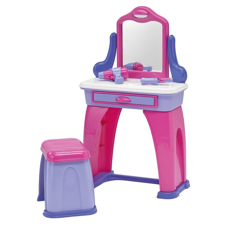 American Plastic Toys My Very Own Vanity Set With Mirror Reviews Wayfair