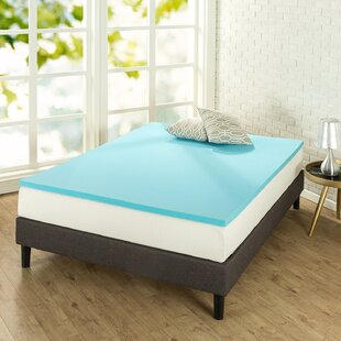Check Prices 1.5 Gel Memory Foam Mattress Topper By Alwyn Home