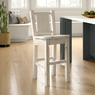 Abella Pine 24 Bar Stool by Loon Peak