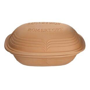 Romertopf Oval Non-Stick 2 Piece Baking Dish Set