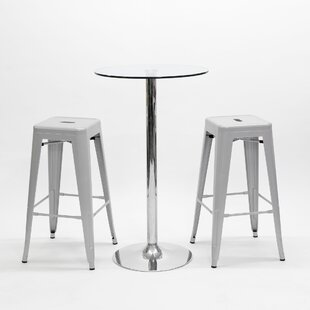 Quinton 3 Piece Pub Table Set By Metro Lane