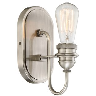 Affordable Price Holden 1-Light Bath Sconce By 17 Stories