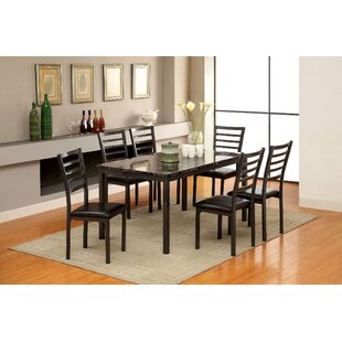 Hartzler 7 Piece Dining Set by Red Barrel..