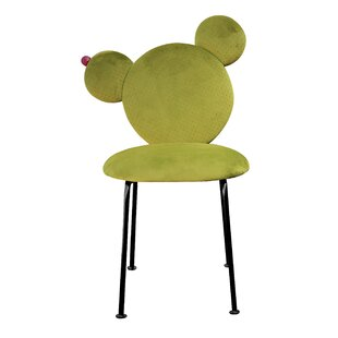 Cactus Upholstered Dining Chair By Happy Barok