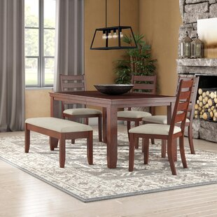 Geduhn 6 Piece Extendable Dining Set Loon Peak