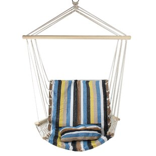 Osiris Striped Chair Hammock by Highland Dunes