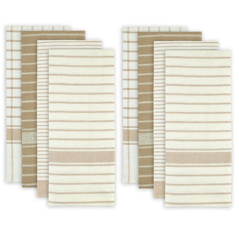 8 Piece Cotton Dishtowel Set