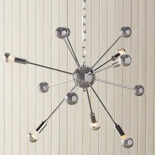 Langley Street Kalman Matrix 6-Light Sputnik Chandelier