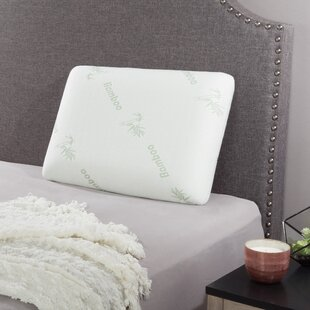 Una Ventilated Medium Memory Foam Standard Pillow