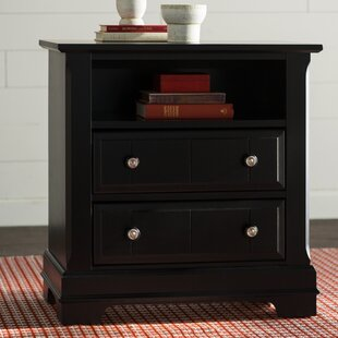 Darby Home Co Marquardt 2 Drawer Nightstand