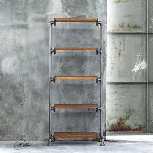 Blossom Industrial Etagere Bookcase by 17 Stories