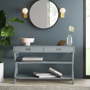 Atticus Console Table by Mercury Row