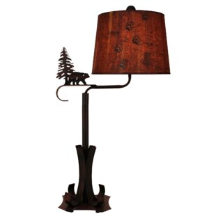 Julius Iron Swing Arm 32 Table Lamp
