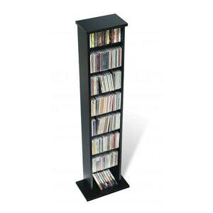 Slim Multimedia Storage Tower by Prepac