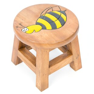 Bee Children's Stool By Just Kids