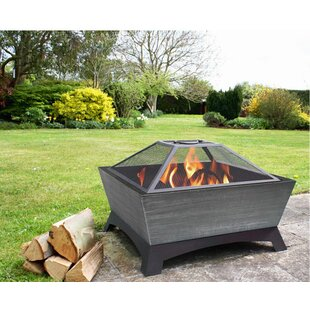Jeco Inc. Hudson Steel Wood Burning Fire Pit