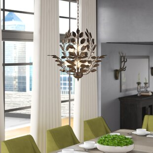 Sturgeon Leaves 9-Light Novelty Chandelier by Millwood Pines