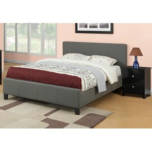 Francise Queen Upholstered Platform Bed by A&J Homes Studio #1