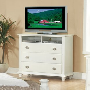 Daley 3 Drawer Media Chest