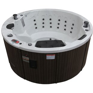 Ottawa 38-Jet Hot Tub With Waterfall By Canadian Spa Co