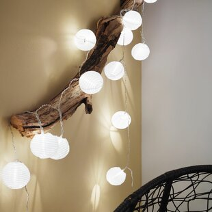 Abiona LED Paper Lantern String Lights By 17 Stories