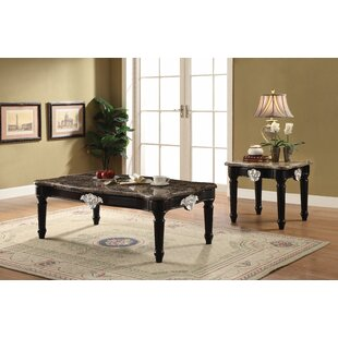 Astoria Grand Mcclellan 2 Piece Coffee Table Set