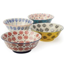 4 Piece Salad Bowl Set