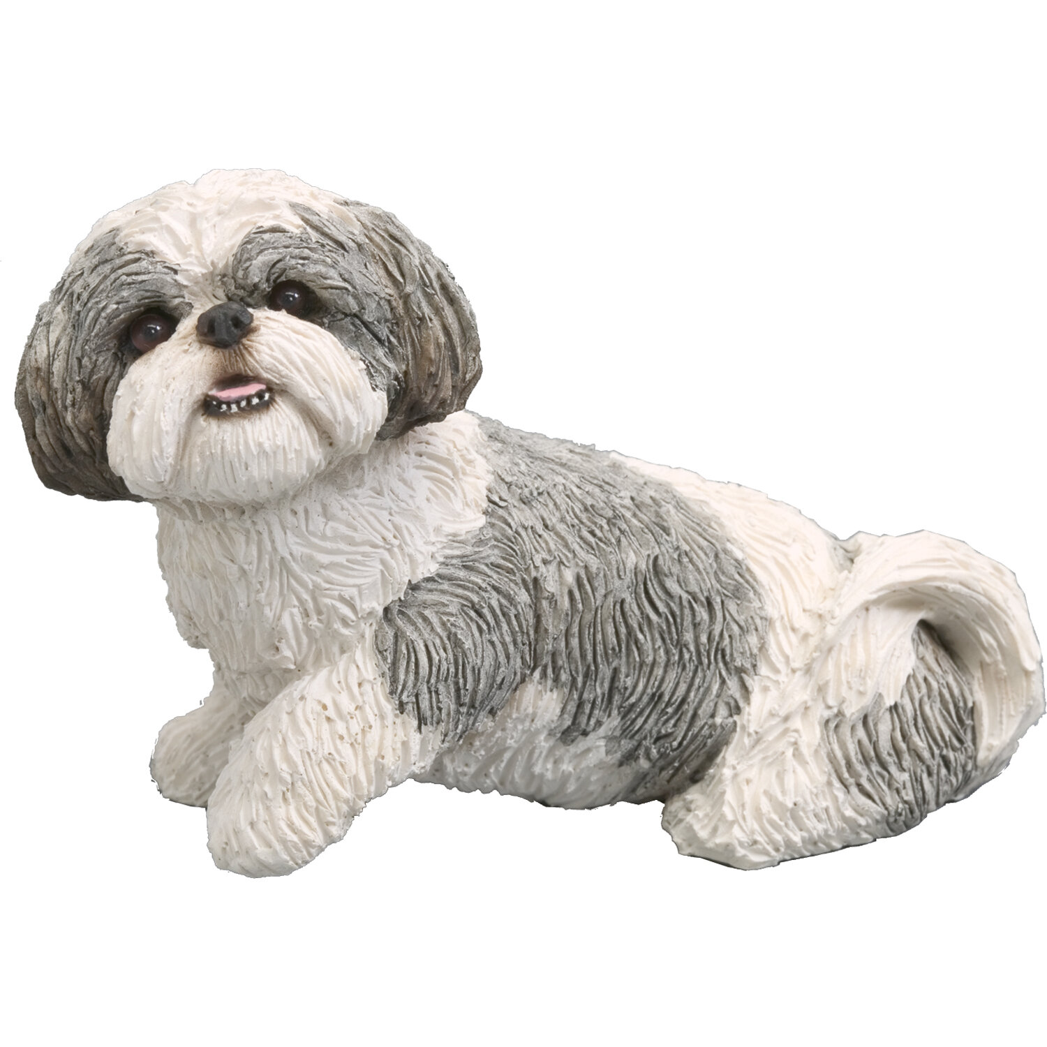 Alcott Hill Balic Playful Shih Tzu Figurine Reviews Wayfair
