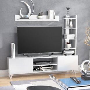 Inexpensive Moser TV Stand for TVs up to 55 by Wrought Studio Reviews (2019) & Buyer's Guide
